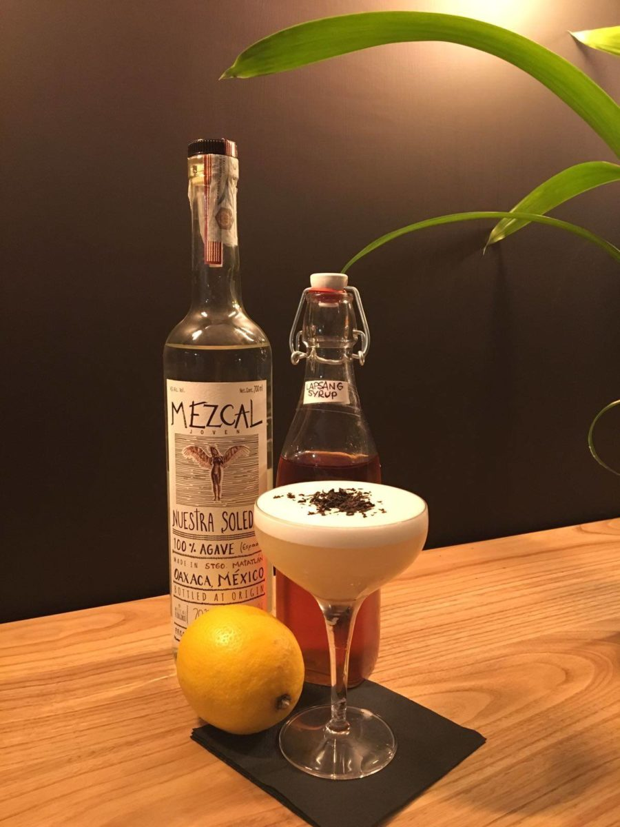 Il Mezcal smoked tea sour