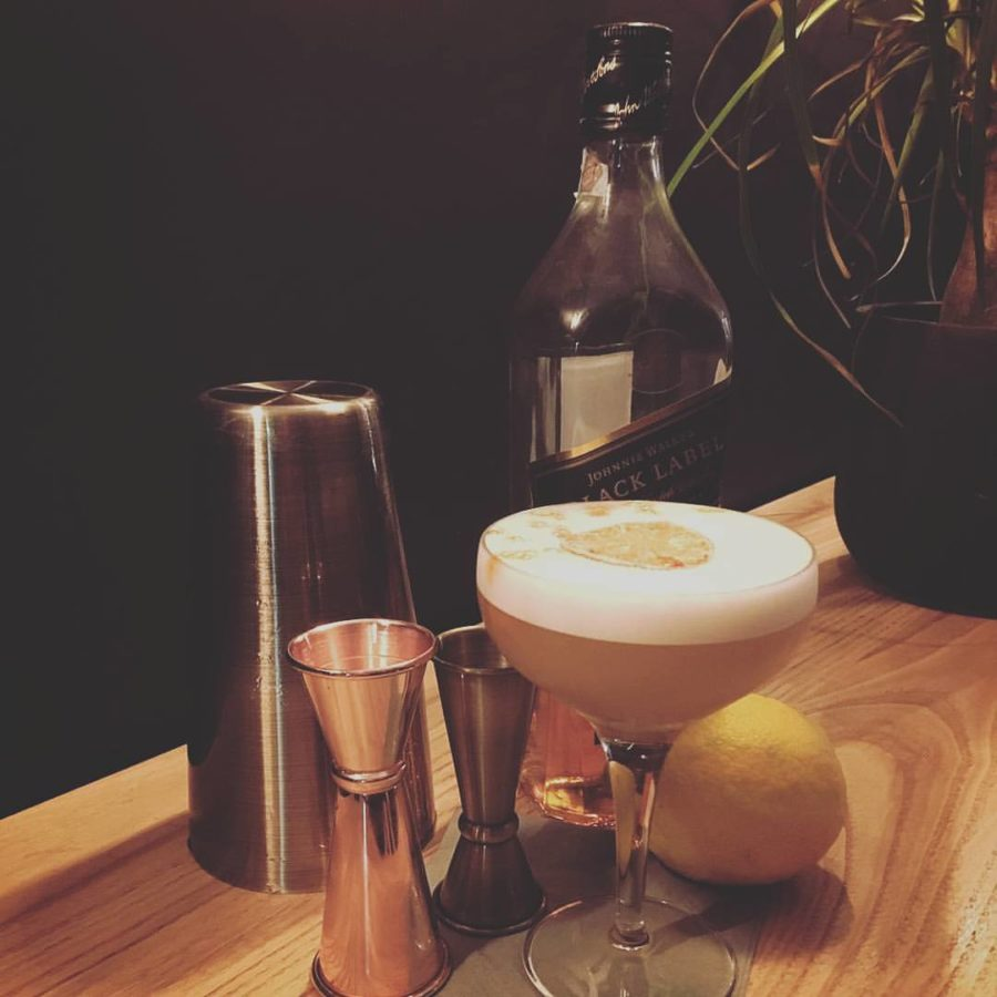Scotch Camomilla Sour